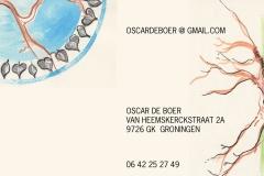 Oscar Buisiness Card BACK