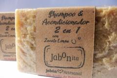 Shampoo y Acondicionador 2 en 1, 100g, 170 UYU